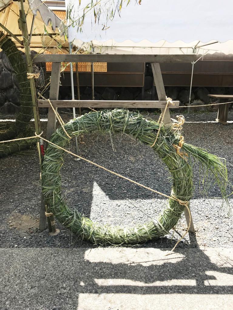 茅の輪(犬用)